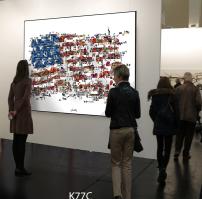 Stars + Stripes Galeriekunst