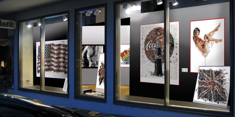 Kunstgalerie Schaufenster