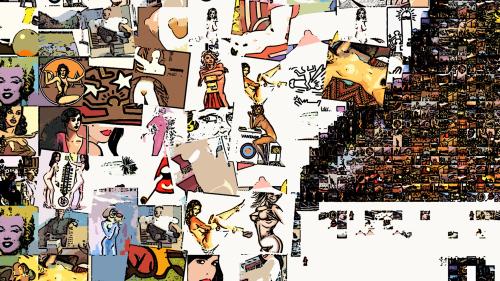 Jim Beam, Erotische Kunst, nackt, Frau, Sexy, Kunst und Erotik, Erotik in der Kunst, erotische Darstellung, moderne Kunst, zeitgenössische Kunst, Pop art, amerikanische Pop Art, Pin-up, Pin-up Kunst, Pin-up Bild, Kunst, Art, Galerie, Kunstgalerie, zeitgen