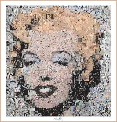 Marilyn Monroe - Warhole - Kunstbild, Moderne, zeitgenössische erotische Kunst, Erotische Kunst, nackt, Frau, Sexy, Kunst und Erotik, Erotik in der Kunst, erotische Darstellung, moderne Kunst, zeitgenössische Kunst, Pop art, amerikanische Pop Art, Pin-up,
