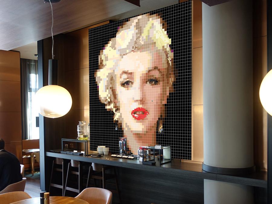 Marilyn Monroe Portrait Warhole