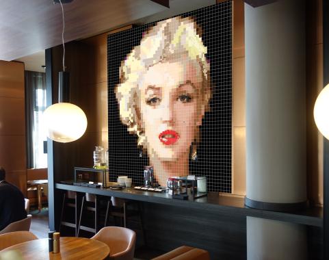Marilyn Monroe Galeriearbeit, Marilyn, Marilyn Monroe, Marilyn Portrait, moderne Pop Art, Pop Art Marilyn, Marilyn Kunst, Marilyn Monroe Kunstbild, Marilyn Monroe Fotografie, Kunst und Marilyn, Kunst, Art, Galerie, Kunstgalerie, zeitgenössische Kunst, mod