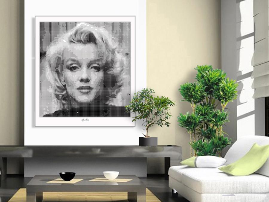Portrait Marilyn Monroe