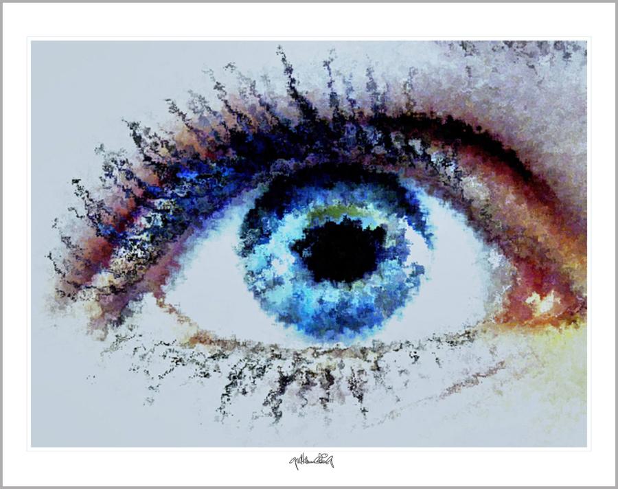 Auge und Kunst, Augenpraxis, Wartezimmerkunst, Kunst Augenpraxen, Kunst Augenklinik,
