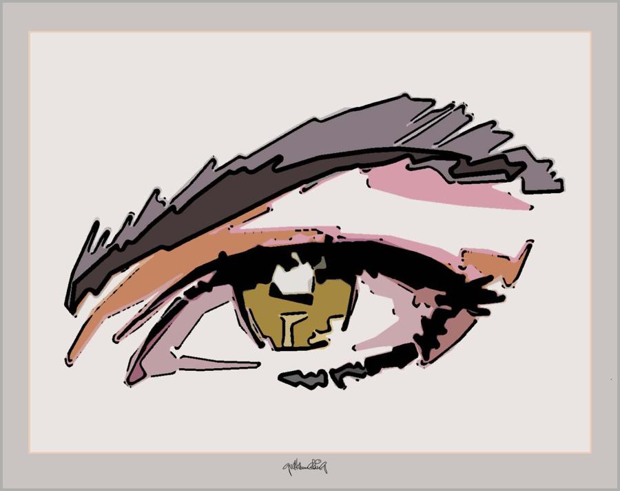 Kunst mit Augen, Kunst und Augen, Augen und Kunst, Augen-Kunstobjekte, Bilder für Augenarztpraxen,