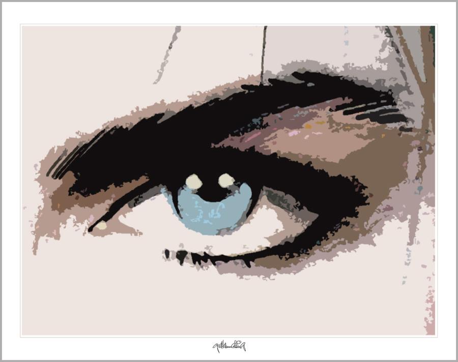 Tolle Augen, schöne Augen, erotische Augen, blaue Augen, Augen, lange Wimpern, große Augen, Augenkunst, Auge und Kunst,