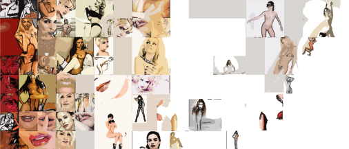Moderne, zeitgenössische erotische Kunst, Erotische Kunst, nackt, Frau, Sexy, Kunst und Erotik, Erotik in der Kunst, erotische Darstellung, moderne Kunst, zeitgenössische Kunst, Pop art, amerikanische Pop Art, Pin-up, Pin-up Kunst, Pin-up Bild, Kunst, Art