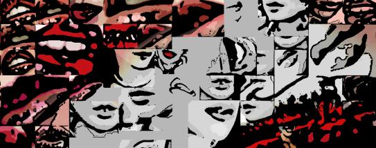 Phantastische Lippen, Kunst und Zähne, Lippen und Kunst, Lippen-Kunst, Bilder für Zahnarztpraxen, Bilder fürs Wartezimmer, Vernissage, Kunstausstellung,
