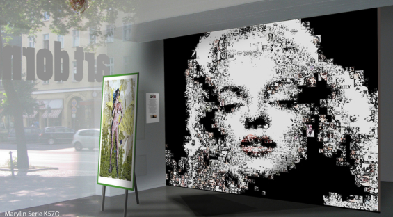 Marilyn Monroe , Fotografie, Wandbild, Kunstausstellung, Vernissage, Bild Kunstausstellung, Artfair , Marilyn, Andi Warhole,