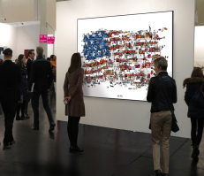 Stars + Stripes Kunstbild Art Fair