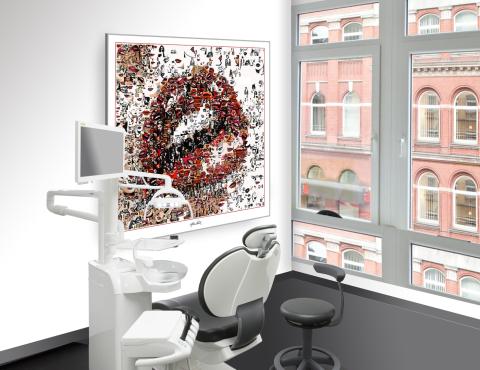 Möbeldesign, Inneneinrichtung, Zahnarztpraxis