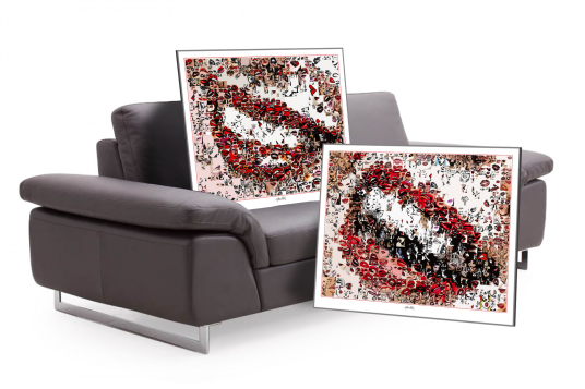 Wandbilder, Design, Einrichtung, Zahnarztpraxis