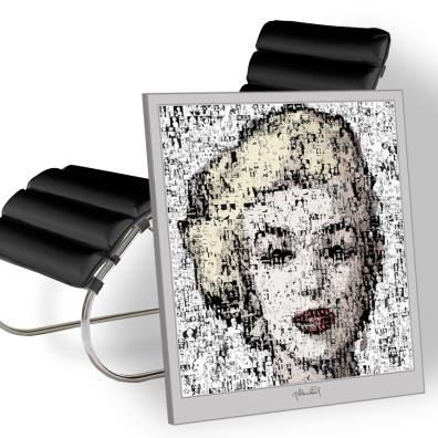 Marilyn, Marilyn Monroe, Marilyn Portrait, Wandbild