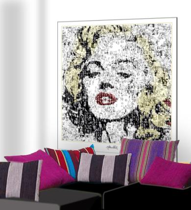 Marilyn Monroe, Wandbild