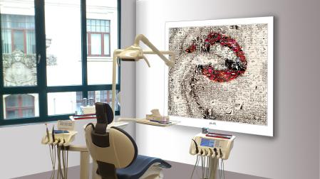 Lippenbilkder für Zahnärzte und Zahnpraxen, Phantastische Lippen, schöne Zähne, erotische Lippen, rote Lippen, Lippen, perfekte Zähne, schöne Lippen, Kunst, Galerie, zeitgemäße-Kunst, moderne-Pop Art, Lippenkunst, Zahnkunst, Zahnpraxis, Wartezimmerkunst,