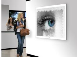 Augen, Bilder Rezeption, Augenklinik, Augenarzt, Wandbild