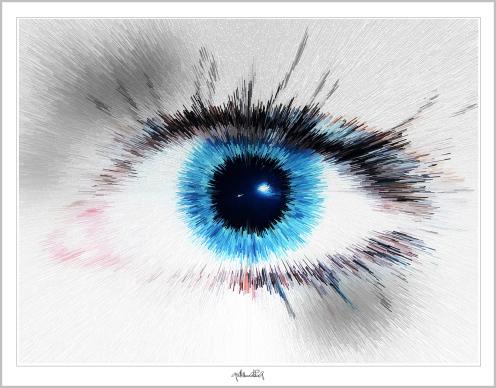 Blaue Augen, Wandbilder für Augenärzte und Augenarztpraxen, Blaue Augen, Bilder Wartezimmer, schöne Augen,