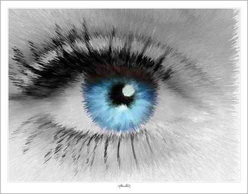 blaue Augen, Augen, lange Wimpern, Wandbilder für Augenärzte und Augenarztpraxen, Blaue Augen, Bilder Wartezimmer, schöne Augen,