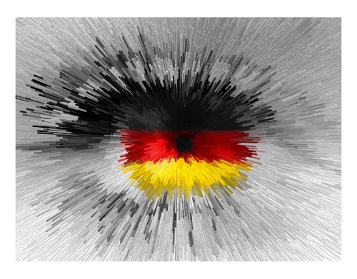 Wandbilder für Augenärzte und Augenarztpraxen, Blaue Augen, Bilder Wartezimmer,