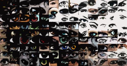 Auge, Kunst, Bild, Augenarzt