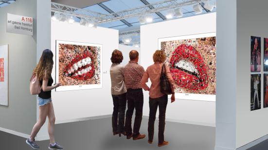 Kunstausstellung - Lippen-Kunst für Zahnärzte, Phantastische Lippen, schöne Zähne, erotische Lippen, rote Lippen, Lippen, perfekte Zähne, schöne Lippen, Kunst, Galerie, zeitgemäße-Kunst, moderne-Pop Art, Lippenkunst, Zahnkunst, Zahnpraxis, Wartezimmerkuns