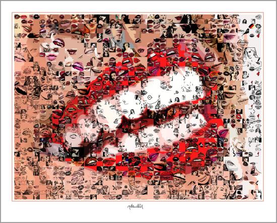 Wartezimmer Zahnärzte und Zahnpraxen, Phantastische Lippen, schöne Zähne, erotische Lippen, rote Lippen, Lippen, perfekte Zähne, schöne Lippen, Kunst, Galerie, zeitgemäße-Kunst, moderne-Pop Art, Lippenkunst, Zahnkunst, Zahnpraxis, Wartezimmerkunst, Kunst