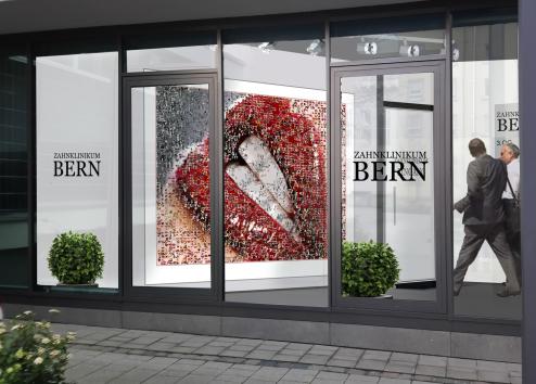 Eingang, Voyer, Zahnklinik, Gestaltung, Design