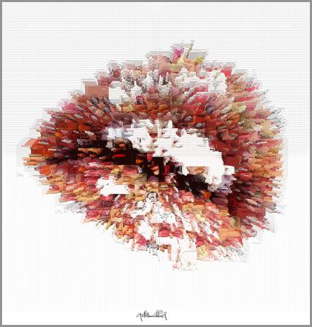 Kunst und Zähne, Lippen und Kunst, Lippen-Kunst, Bilder für Zahnarztpraxen, Bilder fürs Wartezimmer, Vernissage, Kunstausstellung,