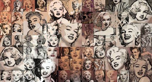 Marilyn, Marilyn Monroe, Marilyn Portrait, moderne Pop Art, Pop Art Marilyn, Marilyn Kunst, Marilyn Monroe Bild, Marilyn Monroe Fotografie, Wandbild