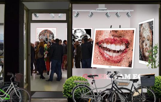 Kunstausstellung, Ausstellung, Bilder Zahnarztpraxis