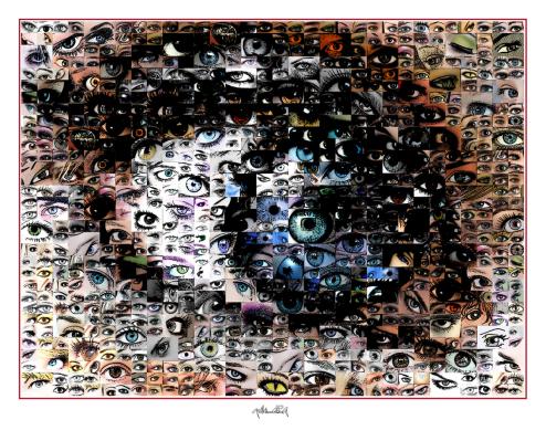Augen, Wandbilder für Augenärzte und Augenarztpraxen, Blaue Augen, Bilder Wartezimmer, schöne Augen,