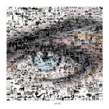 Bilder Rezeption, Augenklinik, Augenarzt, Kunst und Augen, Wandbild, Bilder Wartezimmer, schöne Augen,