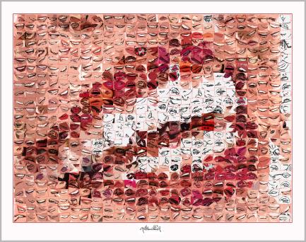 Rezeption Zahnarzt, Wartezimmer und Kunst, Vernissage, Kunstausstellung, Bild Kunstausstellung,