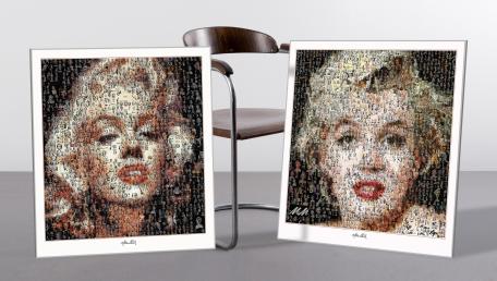 Marilyn, Marilyn Monroe, Marilyn Portrait, Wandbild, Warhole