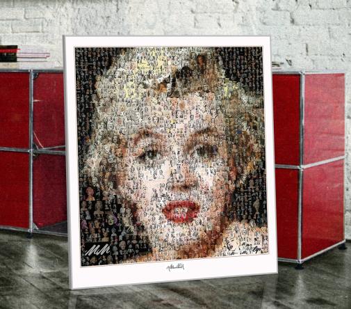 Marilyn, Marilyn Monroe, Marilyn Portrait, Fotografie, Kunst, Wandbild, Bild