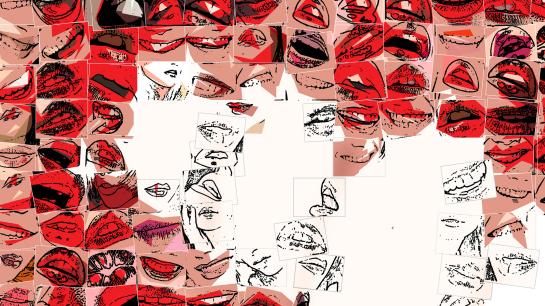 Phantastische Lippen, schöne Zähne, Wandbilder für Zahnärzte und Zahnpraxen, Kunst Zahn, Kunst und Zähne, Lippen und Kunst, Lippen-Kunst, Bilder für Zahnarztpraxen,