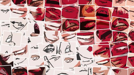 rote Lippen, Lippen, Galerie, zeitgemäße-Kunst, moderne-Pop Art, Lippenkunst, Zahnkunst, Zahnpraxis, Wartezimmerkunst, Erotische Lippen, Lippenerotik,