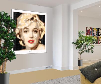 Marilyn, Marilyn Monroe, Marilyn Portrait, Wartezimmer