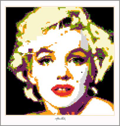 Marilyn, Marilyn Monroe, Marilyn Portrait, Fotografie, Artfair