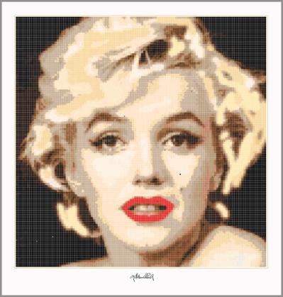 Marilyn Monroe, zeitgenössische Kunst, Marilyn Portrait, Bild, Foto, moderne Kunst, moderne-Pop Art, Exponate, Kunstbilder, Wandbilder, Warhole