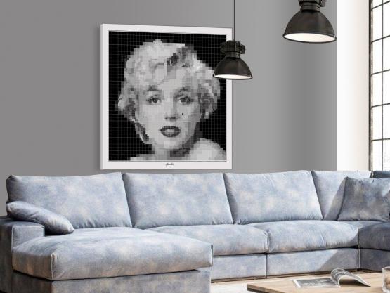 Marilyn Monroe , Fotografie, Wandbild, Kunstausstellung, Vernissage, Bild Kunstausstellung, Artfair Marilyn, Andi Warhole,