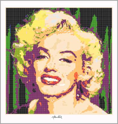 Marilyn, Marilyn Monroe, Marilyn Portrait, Fotografie, Wandbild