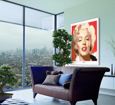 Marilyn, Marilyn Monroe, Marilyn Portrait, Wandbild, Fotografie