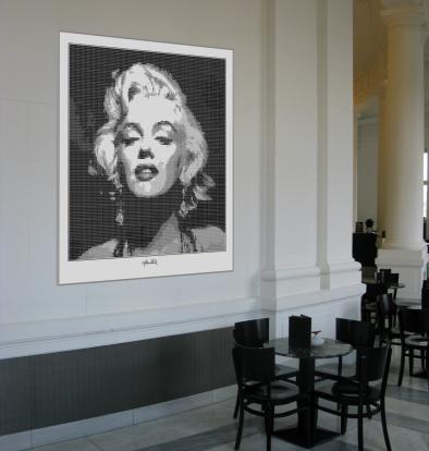 Marilyn, Marilyn Monroe, Marilyn Portrait, Fotografie, Wandbild, Kunst,