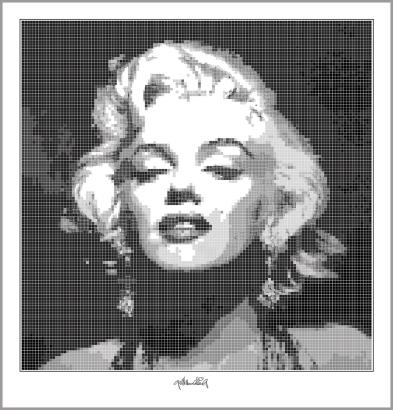 Marilyn Monroe, Marilyn Portrait, Wandbild, Fotografie