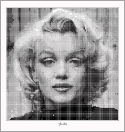 Marilyn, Marilyn Monroe, Portrait, Kunst