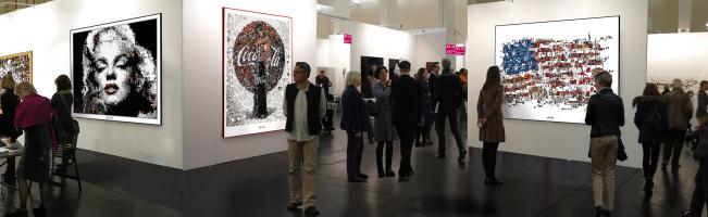 Kunstausstellung, Ausstellung, Lippenbilder, Kunstgalerie, Kunstgalerie, Vernissage, Kunst mit Lippen,
