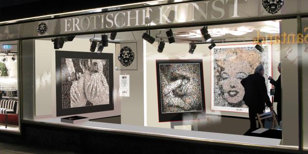 Galerie, erotische Kunst, Art Fair
