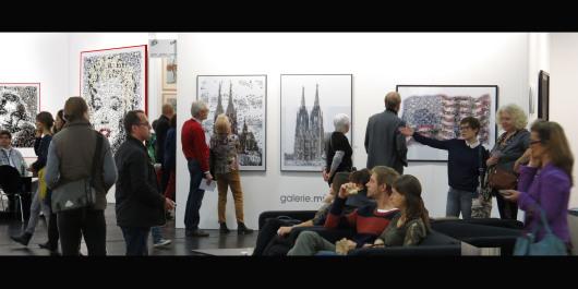 Kunstausstellung, Artfair, Stars Stripes,