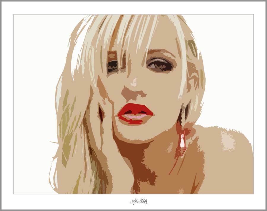 perfekte Lippen, tolle Lippen, erotische Lippen, rote Lippen, Lippen, schöne Lippen, Wandbilder für Zahnärzt